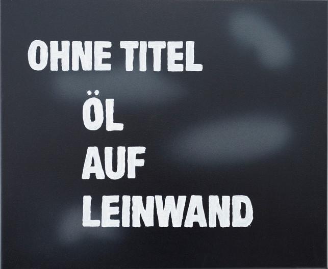 Ohne Titel, Öl auf Leinwand 50cm x 60 cm, Spray Paint and Oil on Canvas 2021