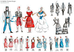 LaSylphide Costume Designs