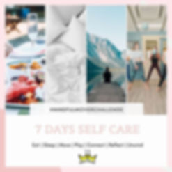 7 Day Self Care Challenge + GIVEWAWAY! 
