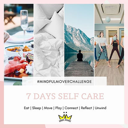 7 Day Self Care Challenge + GIVEWAWAY! ⁠