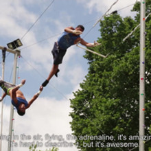 Listo's Flying Trapese