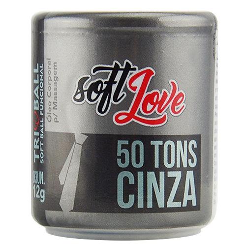 Soft Ball Triball 50 Tons De Cinza 12g 03 unidades Soft Love
