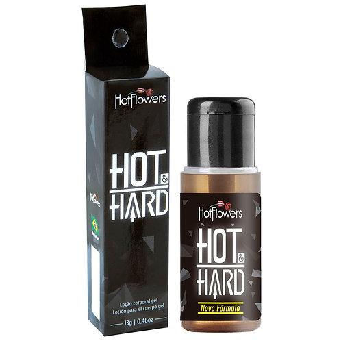 Hot Hard Excitante Masculino 13g Hot Flowers