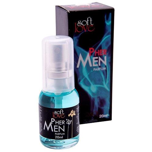 Perfume Phermen Masculino 20ml Soft Love