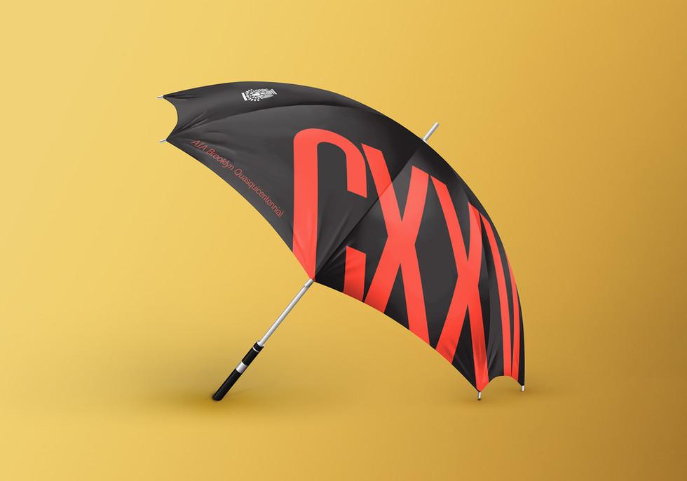 AIA Brooklyn Anniversary Umbrella