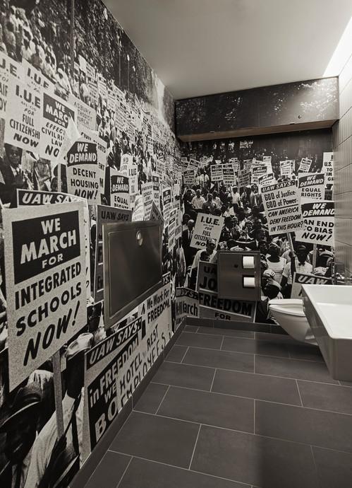 Poster House Restroom