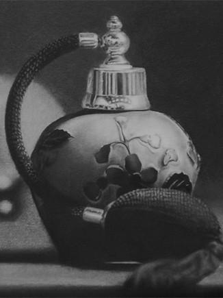 Charcoal Purfume Bottle