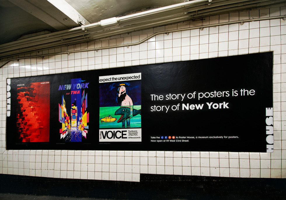 Poster House W4 Station Domination