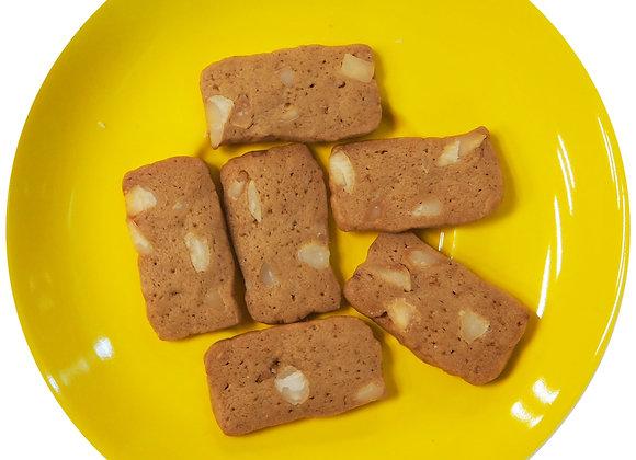 Espresso Macadamia Cookies