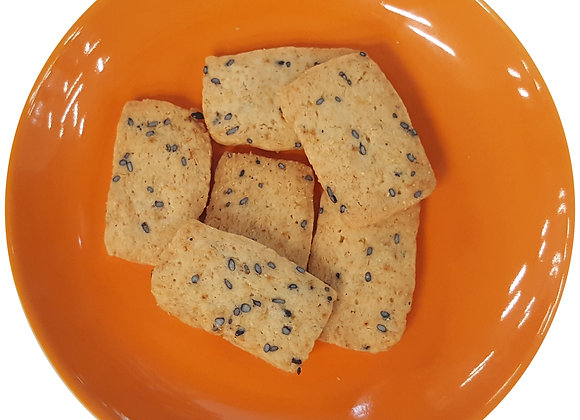 Cereal Black Sesame Cookies