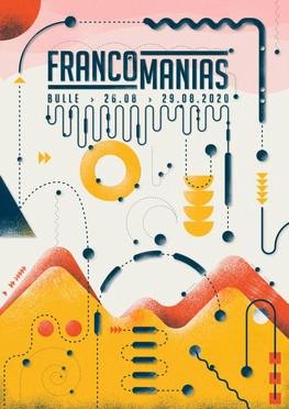 Francomanias 2020 - l'affiche que vous ne verrez pas...