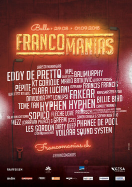 Les Francomanias, une édition 2018 branchée !