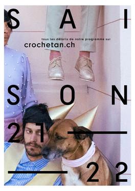 Saison 2021/2022 du Théâtre du Crochetan