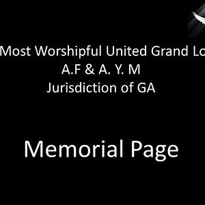 Memoral Page