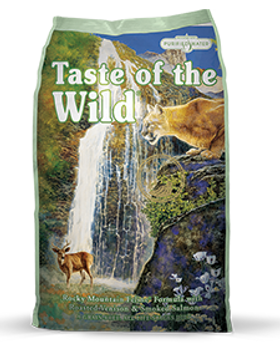 Taste of the Wild Rocky Mountain Feline.