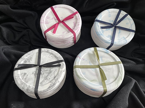 Four Sets Package of Four Standard Size Coasters