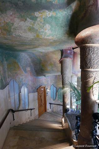Barcelona la Pedrera (cage d'escaliers p