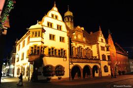 Freiburg-am-Brisgau RFA (Altes Rathaus).