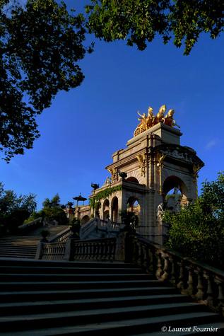 Barcelona park de la Ciutadella (char de