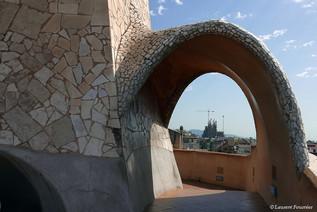 Barcelona la Pedrera (cage d'escaliers d