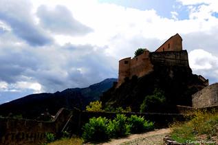 Corsica Corte (la citadelle depuis les l