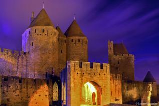 Carcas-night (porte Narbonnaise, le pont