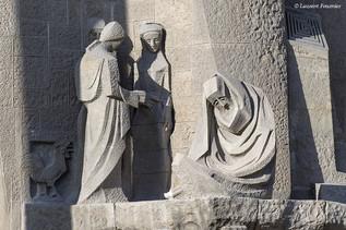 Barcelona Sagrada Familia (facade de la