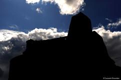 Corsica Corte (citadelle en contre jour)