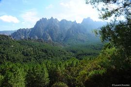 Corsica Col de Larone (les aiguilles de