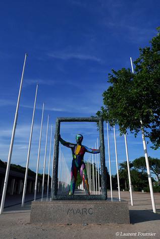 Barcelona Statue de Marc.JPG