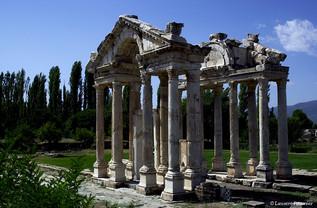 Aphrodisias, vestiges termple d'Aphrodit