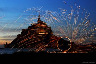 Mont St-Michel (cercle de feux).JPG