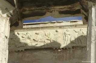 Athènes, le Parthénon (lintaux).JPG