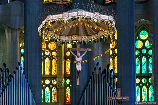 Barcelona Sagrada Familia (le ciborium).