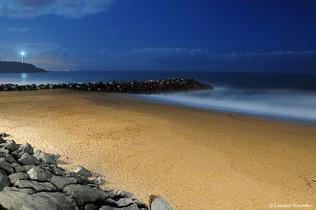 Biarritz (plage de la petite chambre d'A