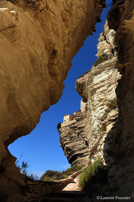 Corsica Bonifacio (les escaliers de la p