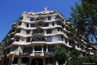 Barcelona la Pedrera (facade exterieure)