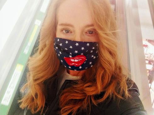 Flirten mit Maske ?