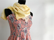 Product: Dress and Silk Scarf