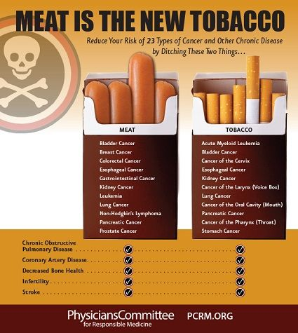 meat is the new cancer