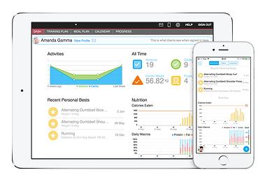 Trainerize App-client-dashboard-nutritio