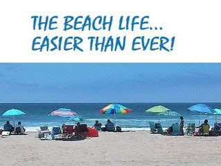 Make the most of the beach life!