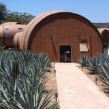 Barrel With Walkway