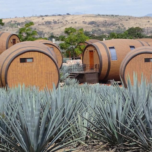 Barrel Hotel Rooms