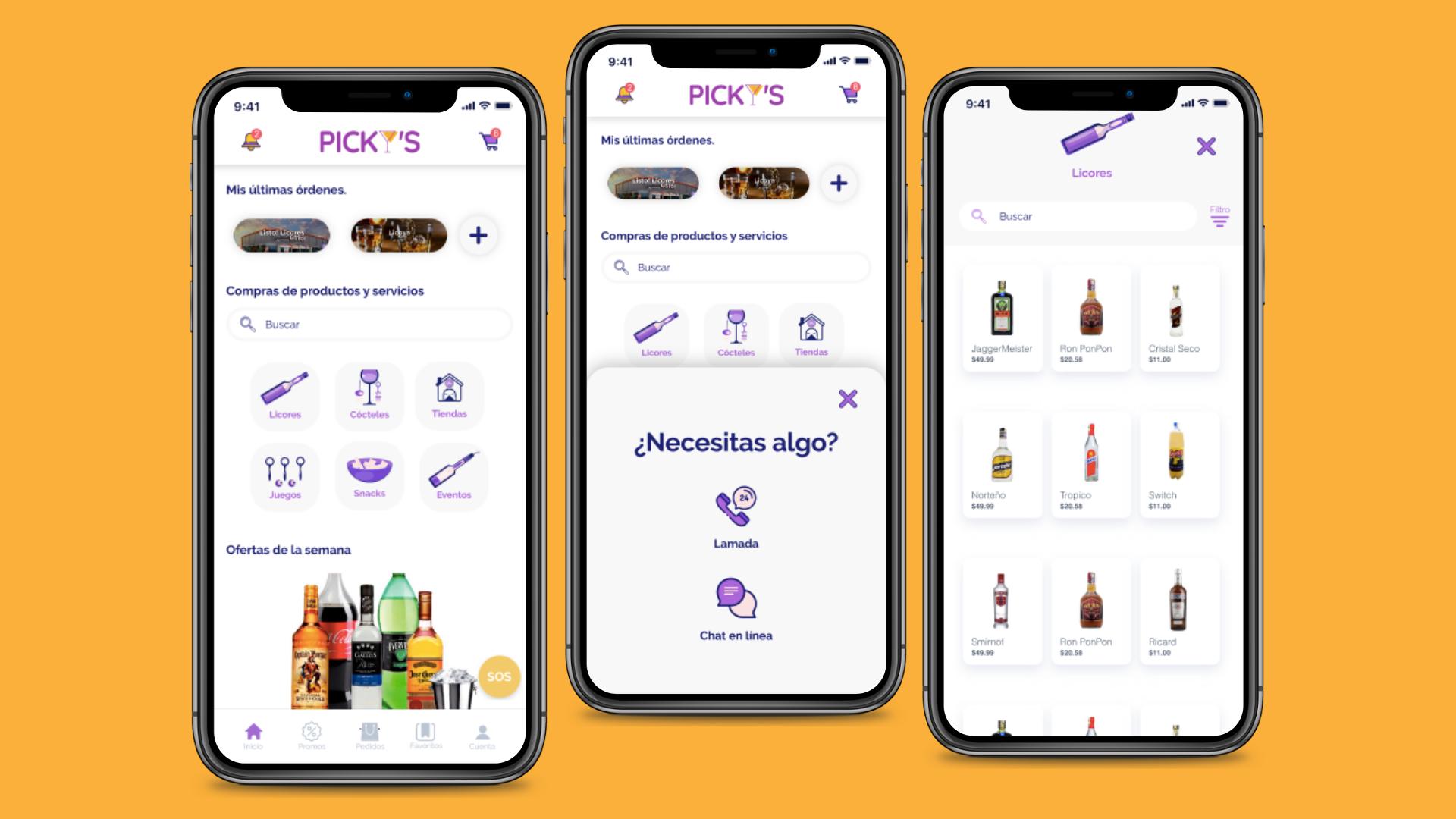 Picky's App