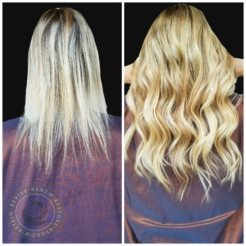 Micro Link Extensions with 100% human hair