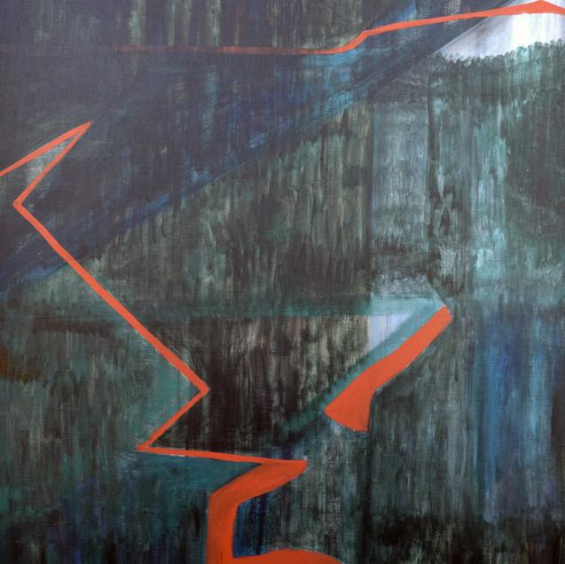 Path, acrylique sur toile, 120x70 cm, 2020