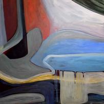 Blue Velvet, acrylic on canvas