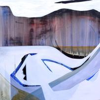 Frozen movement, 80x80 cm, 2020