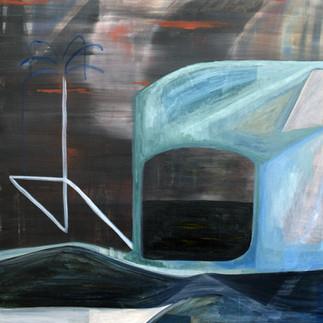 David Lynch, 100x80 cm, 2020